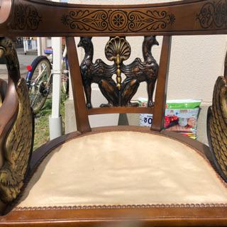 アンティーク 飾り 椅子 の画像