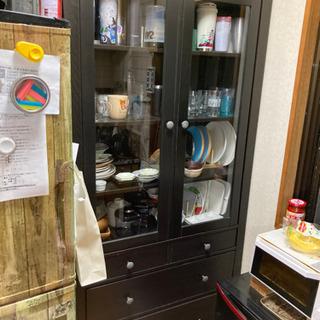 IKEA 食器棚★最終→4月20日に捨てます★
