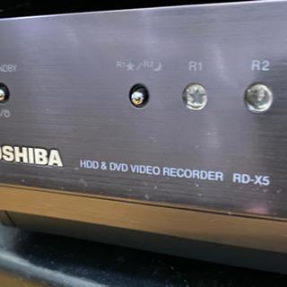 【ネット決済】RD-X5 東芝HDD DVDレコーダー