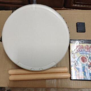 PS2太鼓の達人 ソフト&タタコン&メモリーカード