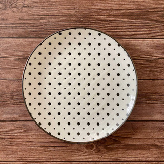 日本製 水玉模様のお皿