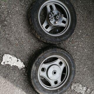レッツ2のタイヤや付属品一式 新品&中古品 - 売ります・あげます