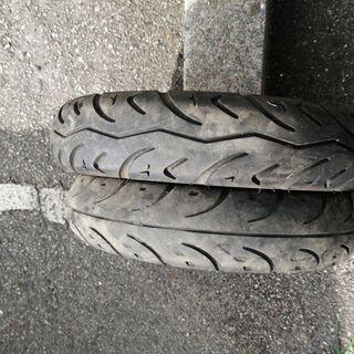 レッツ2のタイヤや付属品一式 新品&中古品 - バイク