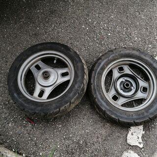 レッツ2のタイヤや付属品一式 新品&中古品 − 兵庫県