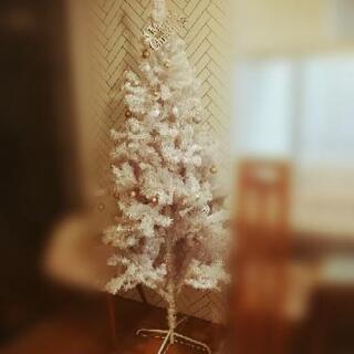 クリスマスツリー(高さ2m)差し上げます。