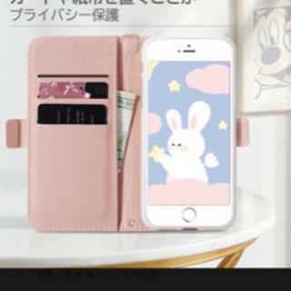 新品未使用 ミッキーマウス手帳型ケース(レッド)