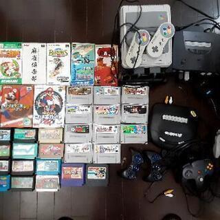 大量ゲーム ファミコン スーファミ 64