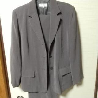 お値下げ日本製パンツスーツ 15号