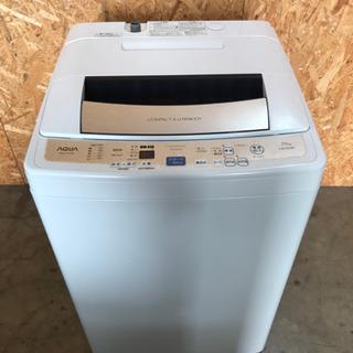 洗濯機 AQUA AQW-P70D(W)  7.0kg 2015...