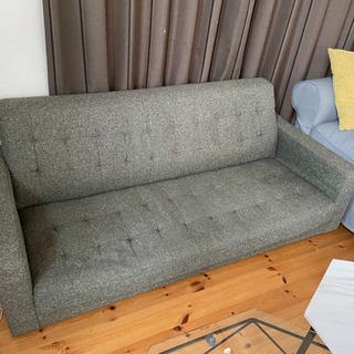 【ネット決済】3人掛けソファー中古