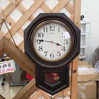 【値下げ】八角振り子時計✨SEIKO✨クオーツ✨毎時曲が鳴ります...
