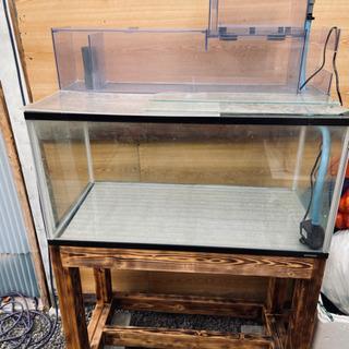 90センチガラス水槽セット