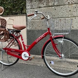 【美品】幼児用座席付き自転車