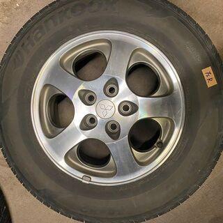 三菱純正ホイール(タイヤ付)4本セット
