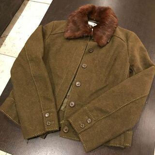 高級ブランド23区ラビット毛皮のジャケットM
