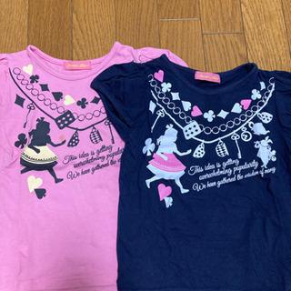 anna alice 100センチ Tシャツ2枚セット