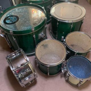 ドラムセット(YAMAHA)バスドラ2個