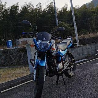 【ネット決済】整備済み YBR125K ブルー 125cc! 自...