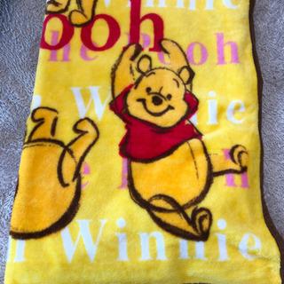 クマのプーさん毛布