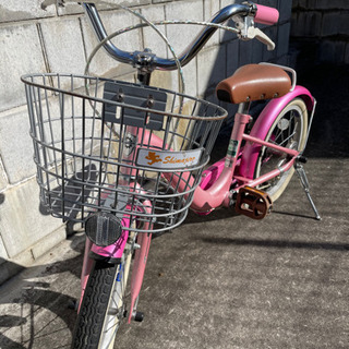 キッズ自転車 みみりんピンク