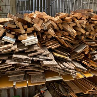 焚き火やキャンプファイヤー等に木片多数