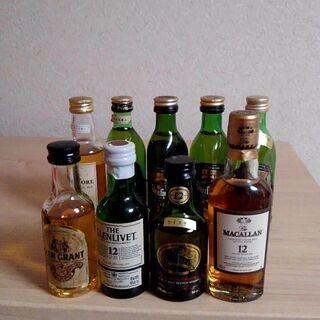 シングルモルト スコッチ 古酒9本、特級1本;ブナハーブン…