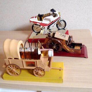 全て特級 メタクサ バイク、イモンクス 大砲、カウンティ フェア 幌馬車 未開栓の画像