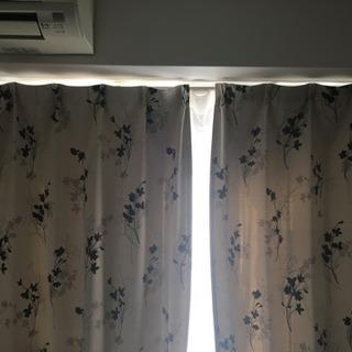 【売約済み】高さ200遮光カーテン+レースカーテン