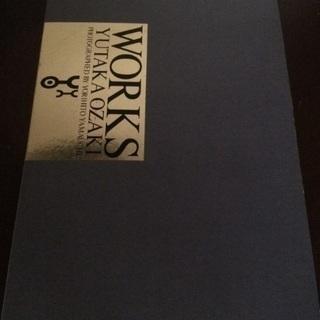 尾崎豊 写真集 『WORKS』当時物 美品 予約特典ポート…