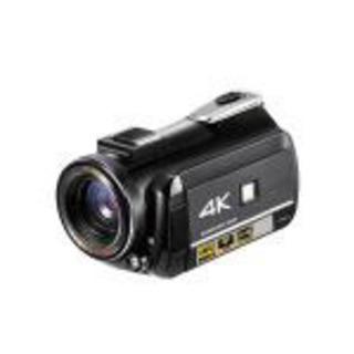 【ネット決済】 PLUS 4Kビデオカメラ DV-AC3-BK