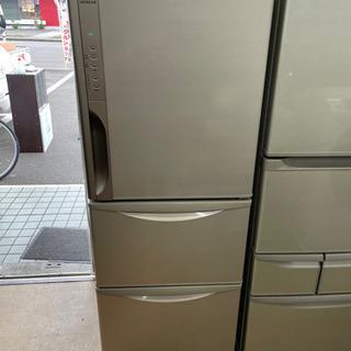 日立 3ドア冷蔵庫 265L  自動製氷・真空チルド搭載 リサイ...