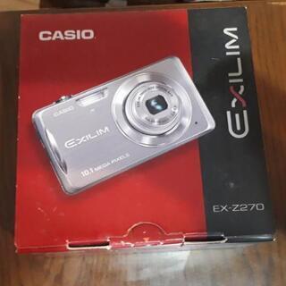 CASIO デジタルカメラ EXILIM ZOOM EX-Z270