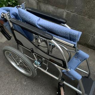 松永製作所 折り畳み式 車椅子 介助用 エアリアル