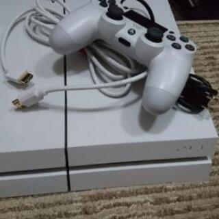 PS4  コントローラー付き 電源ケーブルとHDMI ケーブルも