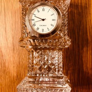 【ネット決済】クリスタル 置き時計