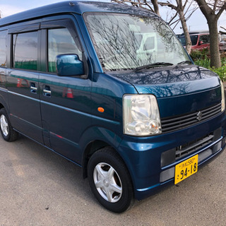 【ネット決済】コミコミ20万円、エブリィワゴン、車検あり、下取り可
