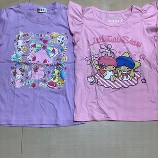 【ネット決済】サンリオキャラクターTシャツ2枚セット