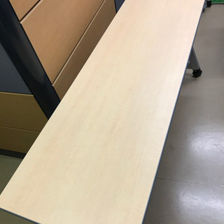 【在庫処分価格】【展示品新品】PLUS折り畳み型テーブル!