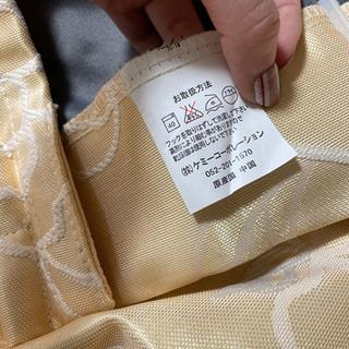 イエロー カーテン 花柄 遮光カーテン − 愛知県