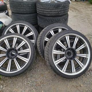 265/30ZR22 タイヤホイール4本セット