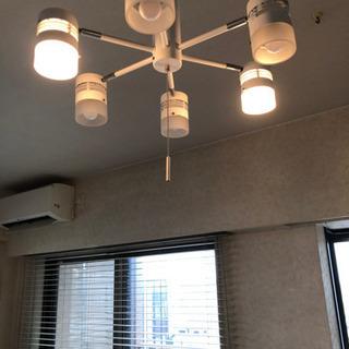 ペンダントライト シーリングライト 6灯 調節可能