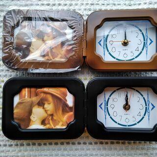 時計付きフォトフレーム