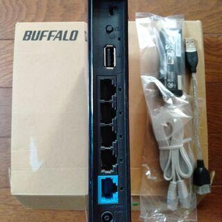 送料無料 BUFFALO 無線LANルーター(中古) - パソコン