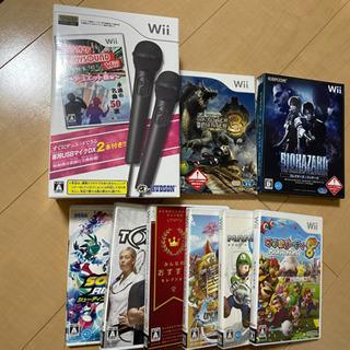 大幅値下げしました!Wiiソフト 期間限定まとめ売り マリオ カ...