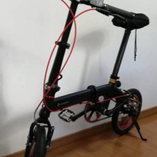 折り畳み自転車 ルノーのウルトラライト7の画像
