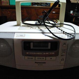 Panasonic CD/カセット・ラジカセF(中古)(ご予約済)