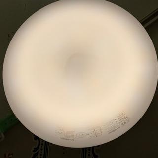 ニトリ リモコン付 LED 照明 シーリングライト 6畳用 光の...