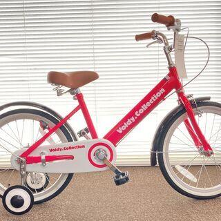 新品 18インチ 子供用自転車 VO-18KB ピンク