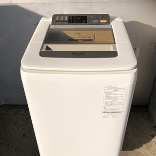 パナソニック 8kg 洗濯機 送風乾燥 2014年 NA-FA8...
