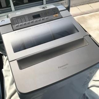 2017年製パナソニック全自動洗濯機容量8キロ美品。千葉県…